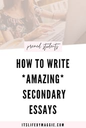 Medical School Applications: How to Write Amazing Secondary Essays